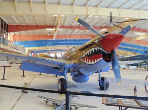 The P40 Flying Tiger. My favorite fighter plane.
